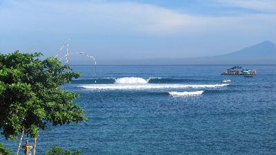 Charmant On Ne Vous Apprendra Rien, Bali Est Un Vrai Paradis Pour Les Surfeurs :  Lu0027eau Y Est Chaude, Les Vagues Consistantes, La Fête Y Bat Son Plein, Les  Paysages ...